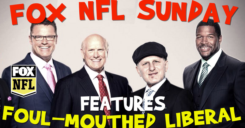Video: Fox NFL Sunday Features Foul-Mouthed Liberal Michael Rapaport