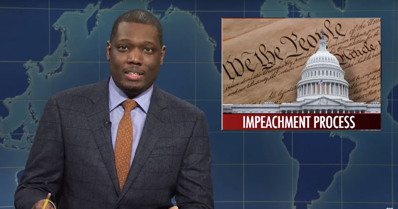 SNL Suggests Assassinating President Trump Instead Of Impeachment