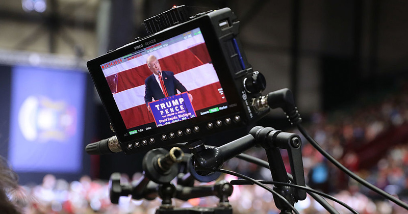 YouTube Blocks Trump Rally Broadcaster from Being Able to Livestream