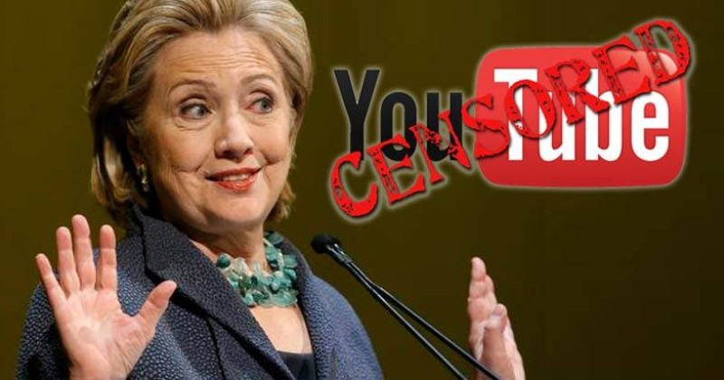 Election Blacklist: YouTube Buries Viral Video of Hillary Clinton Lying For 13 Minutes Straight