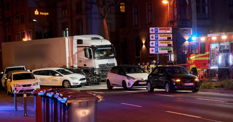 "Germany: Syrian Migrant Shouting ""Allah"" Ploughs Truck Into Traffic, 9 Injured"