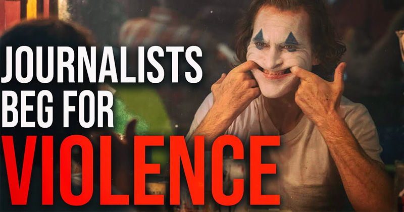 Journalists Create False Call For Violence At Joker Movie