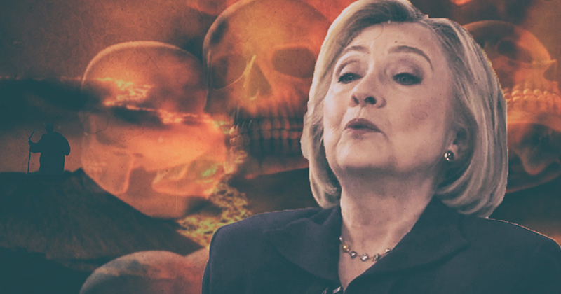 Hillary Given The Mandate Of Hell