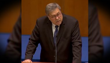 Watch AG Barr Speak Out Against Demonic Enemies of America