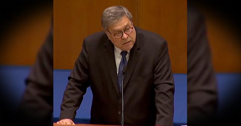 Watch AG Barr Speak Out Against Demonic Enemies of America