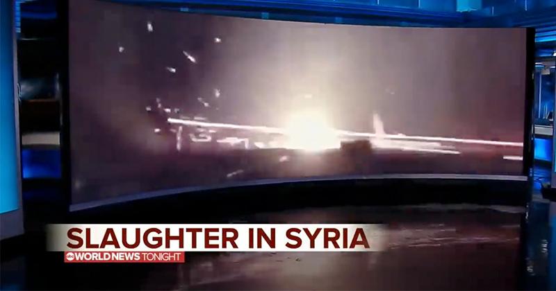 Fake News 101: ABC Airs 2017 Gun Range Footage Claiming It's Turkey Bombing Kurdish Civilians in Syria