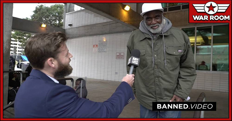 Watch: Homeless Crackhead Says He'll Take Microchip If He Can Stay On Crack
