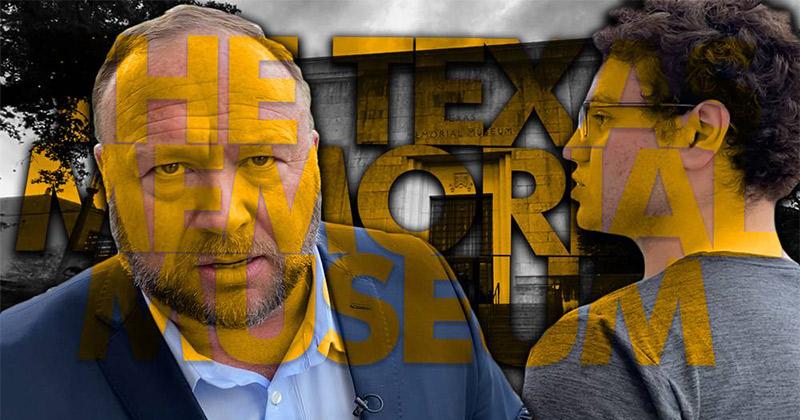 Video: Nazi Deniers Confront Alex Jones At The University of Texas