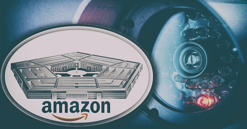Feds Now Storing Secret Data In AMAZON Cloud