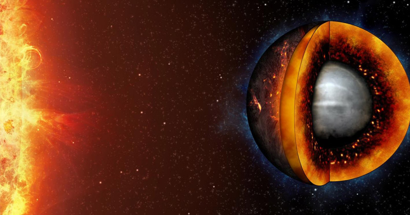 Liquifying a rocky exoplanet
