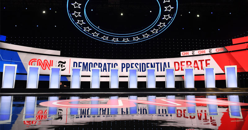Watch Infowars Role Play as Crazy Leftists at Dem Debate