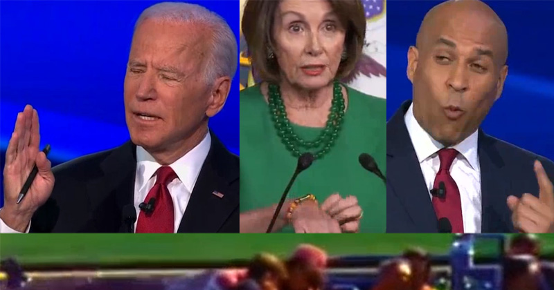 "Biden: ""It's So Important"" We Remove Trump ""On the 17th,"" Pelosi Shows Off Orange Bullet Bracelet"