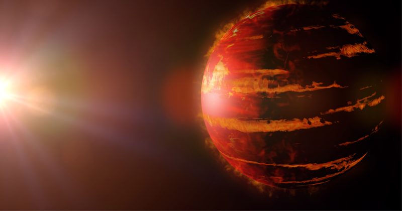 Simulations explain giant exoplanets with eccentric, close-in orbits