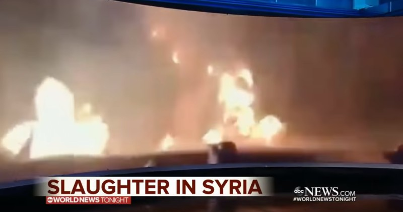 ABC Attempts to Pass Off Gun Range Footage as Combat Footage From Syria to Blame Trump