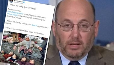 Kurt Eichenwald Posts 1983 Image of Child Earthquake Victims to Bash Trump Over Syria Pullout