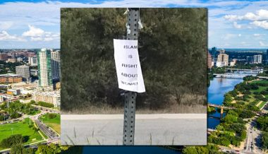 'Islam is Right About Women' Signs Appear in Austin, Texas