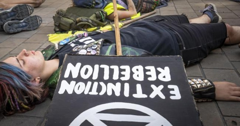 "Extinction Rebellion Co-Founder Says Climate Protest is About Ending Idea Heterosexuality is ""Normal"""