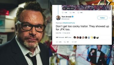 Tom Arnold Aims JFK Assassination Tweet at Trump