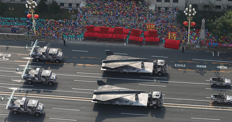 Hypersonic Nuclear Missiles Unveiled at China's Largest Ever Military Parade