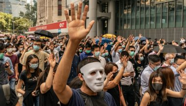 Hong Kong Announces Face Mask Ban