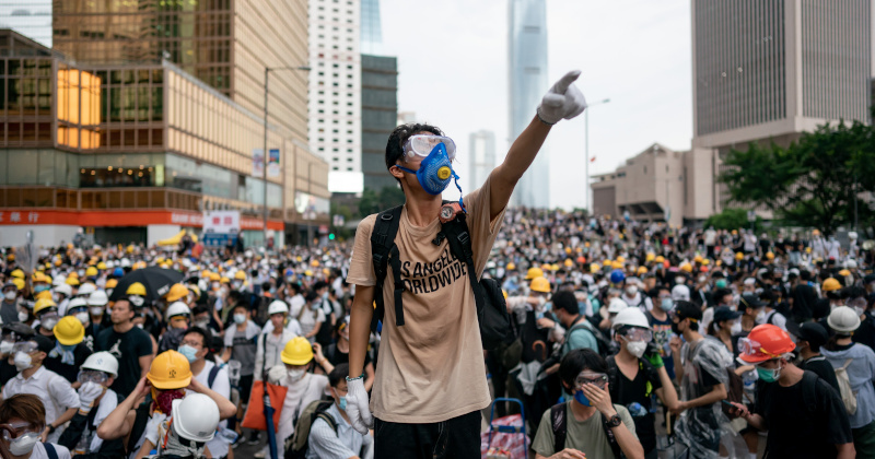 Hong Kong Protest Leader Viciously Attacked With Hammers, Wrenches
