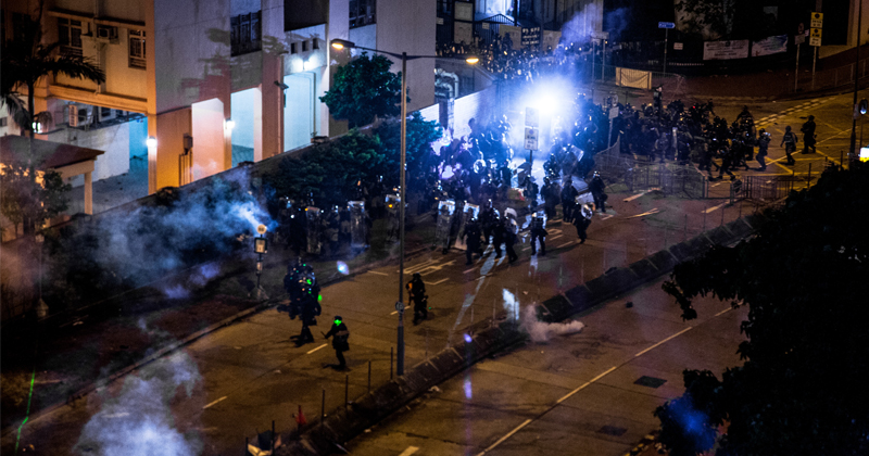 Hong Kong Chaos: Undercover Cops Attacked Amid Backlash Over 'Anti-Mask' Law