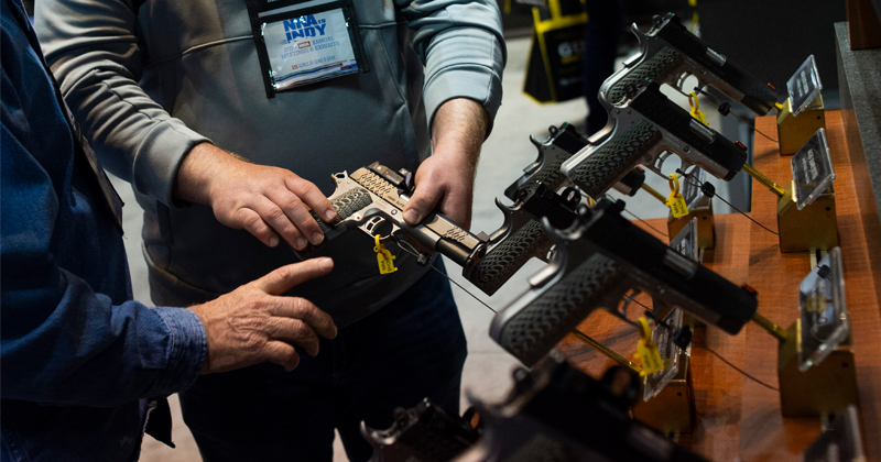 While Dems Clamor for Gun Control, Murder Rate Drops in 38 States
