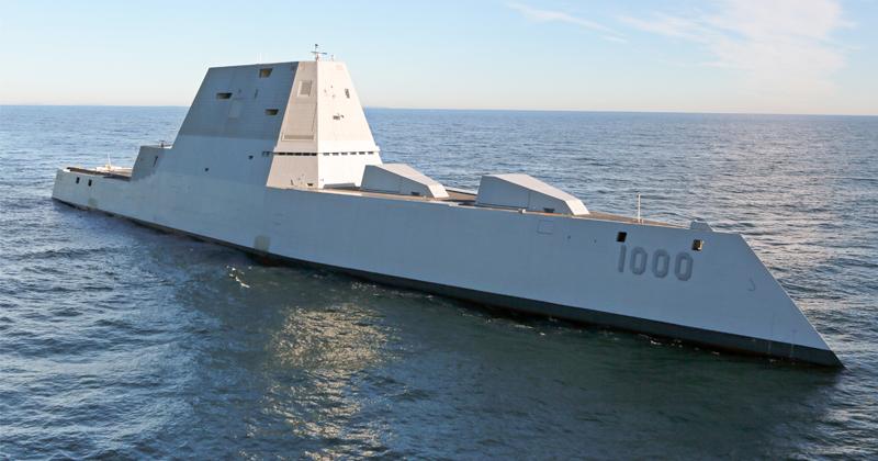 Navy's $7.8 Billion Destroyer Running Five Years Behind Schedule