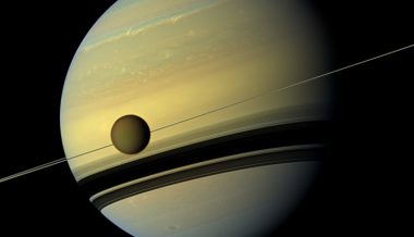 Saturn Moon Spotted Regenerating Fresh Coat of Crystals