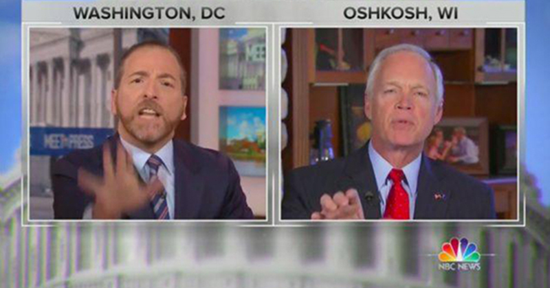 Chuck Todd Flips Out On GOP Senator: 'Do You Not Trust The FBI? You Don't Trust The CIA?'