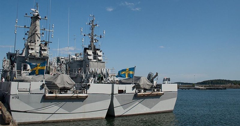 Sweden Revamps 'World's Largest Underground Navy Base'