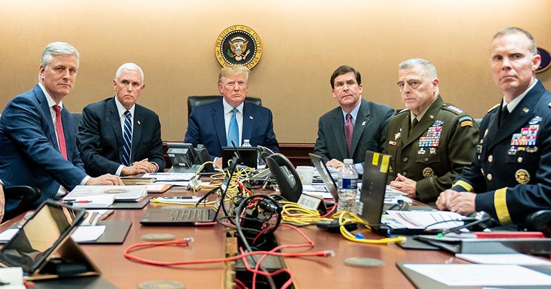 Obama Photographer Accuses Trump of Staging ISIS Raid Photo