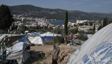 "Greek Island Hits ""Breaking Point"" After Migrant Center Fire"