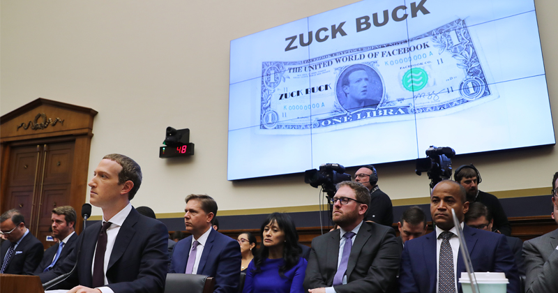 Cryptos Crater as Zuckerberg Defends Libra to Congress