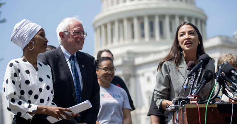 The Squad Endorses Socialist Bernie Sanders For President