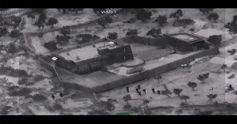 Watch: Pentagon Releases Video of Baghdadi Raid