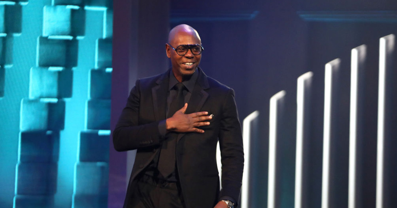 Dave Chappelle Defends Second Amendment During Awards Ceremony
