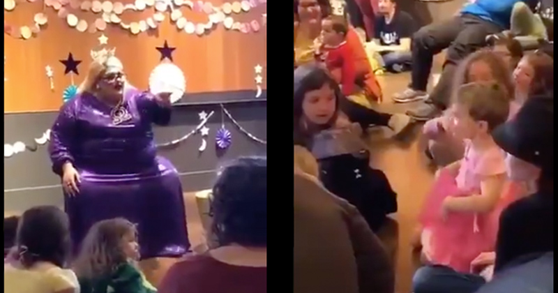 Video: Boy Tells Drag Queen He Wants to Be Spiderman – Gets Told He Can Be Princess Spiderman