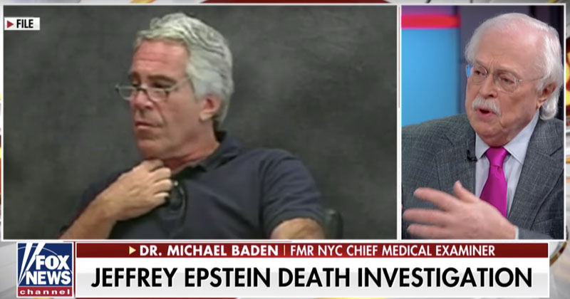 Doctor Who Witnessed Epstein Autopsy: Death More Consistent With Homicidal Strangulation Than Suicide