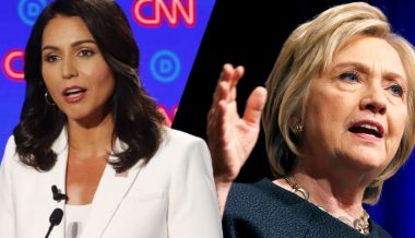 "Tulsi: ""Hillary & her gang of rich, powerful elite are going after me"""