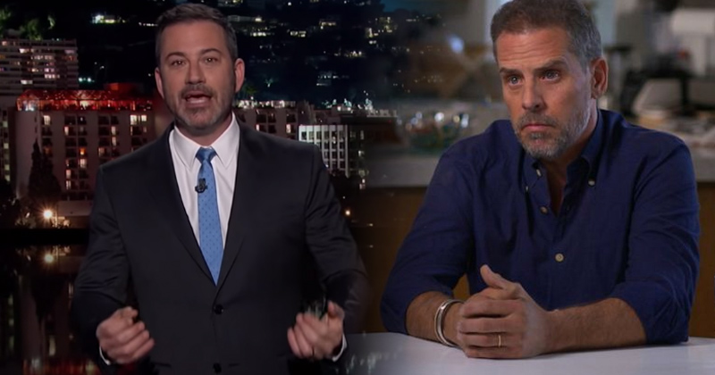 Watch: Jimmy Kimmel Defends Hunter Biden