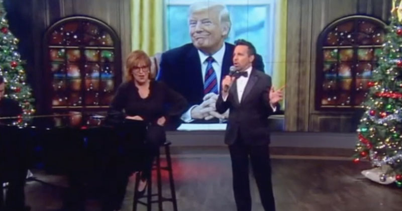 Trump Derangement Syndrome: 'The View' Twists Christmas Song Into Impeachment Anthem