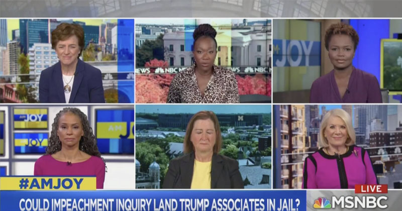 MSNBC's Joy Reid Warns Trump Aides To Turn Against President Or Potentially Face Prison
