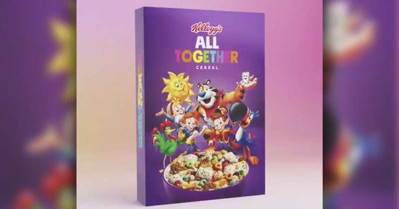 Corporate Wokeness Continues: Kellogg's Launches LGBT Cereal