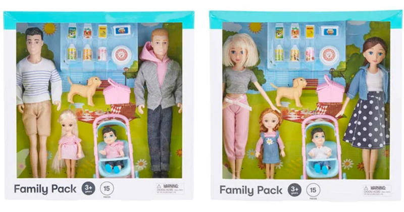 Kmart Unveils Same-Sex Family Dolls Targeting Children as Young as 3