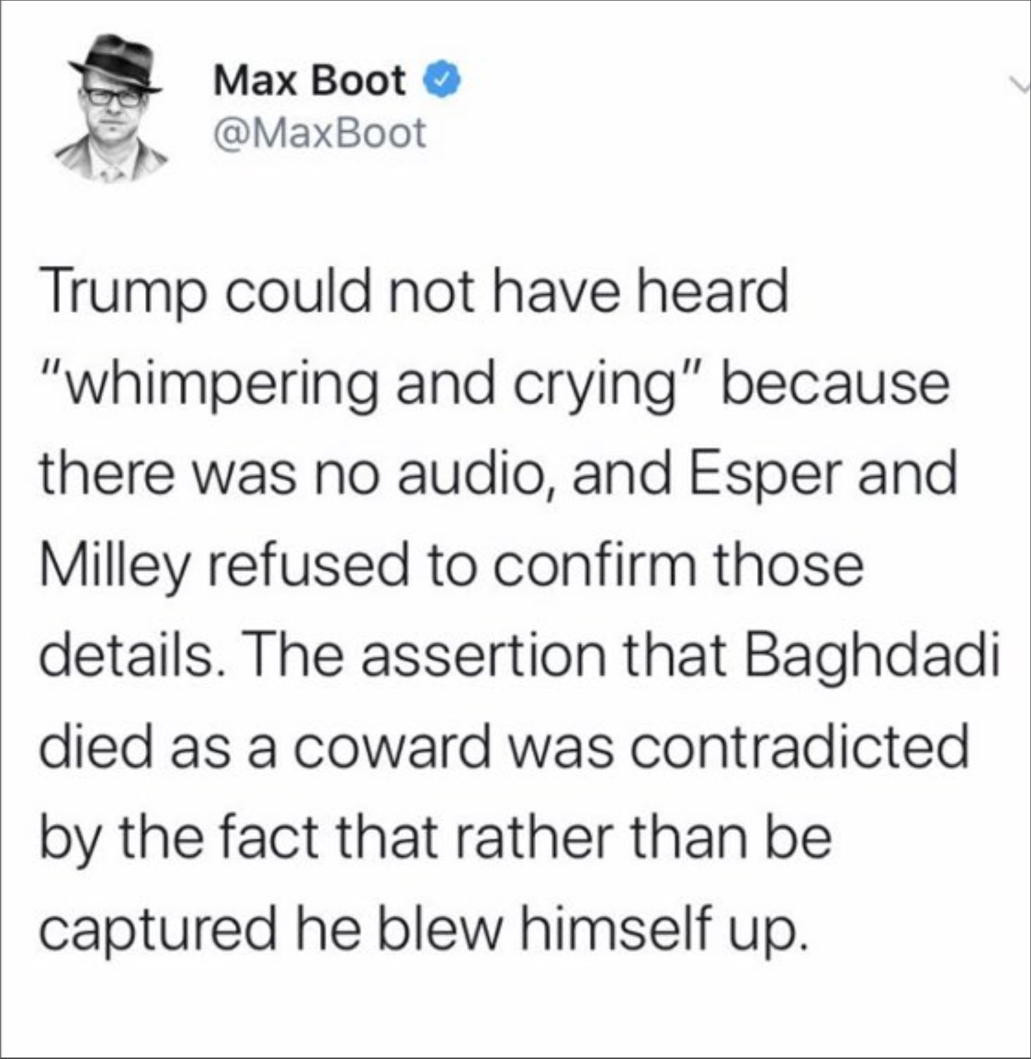 Max Boot Defends ISIS Leader, Says Suicide Bombing Isn't Cowardly