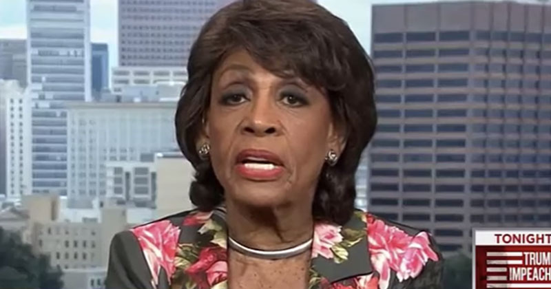 Mad Maxine: 'Spineless' Trump-Supporting GOP Senators 'Willing to Harm Country'