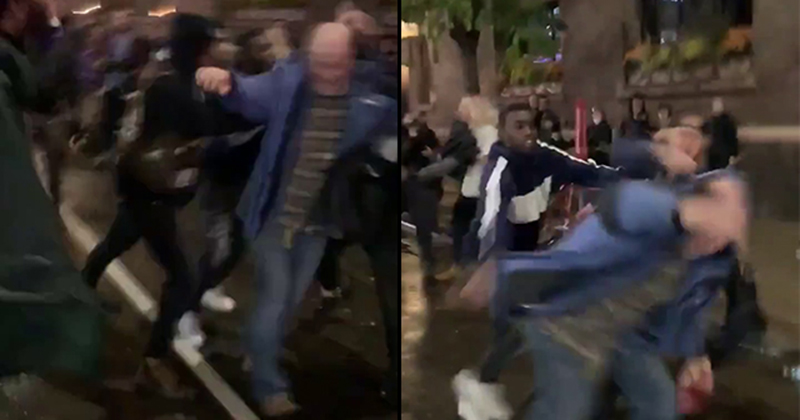 Leftist Mobs Attack Trump Supporters Leaving Minneapolis Trump Rally, Burn Flags & Riot In The Streets