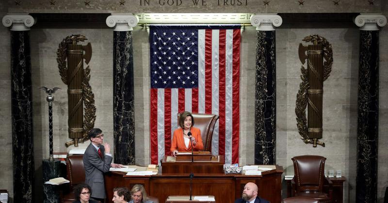 Congress Approves 'impeachment' Resolution Authorizing Schiff's Secret Probe of Trump