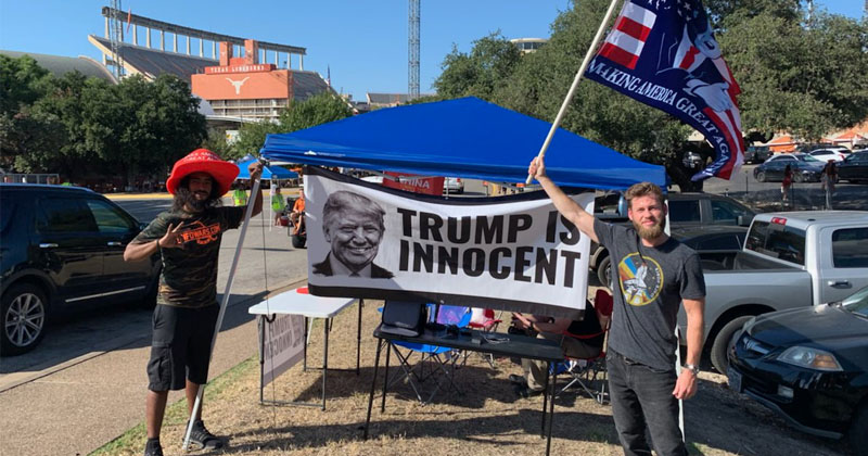 Watch Live: Owen Shroyer Launches Tent City Tailgate 2019! Trump Is Innocent!